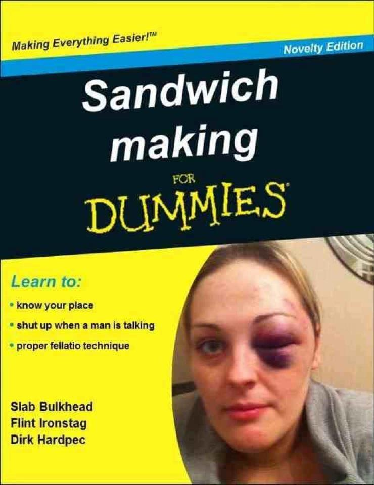 sandwich making for dummies